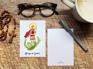 George of Lydda Notecard