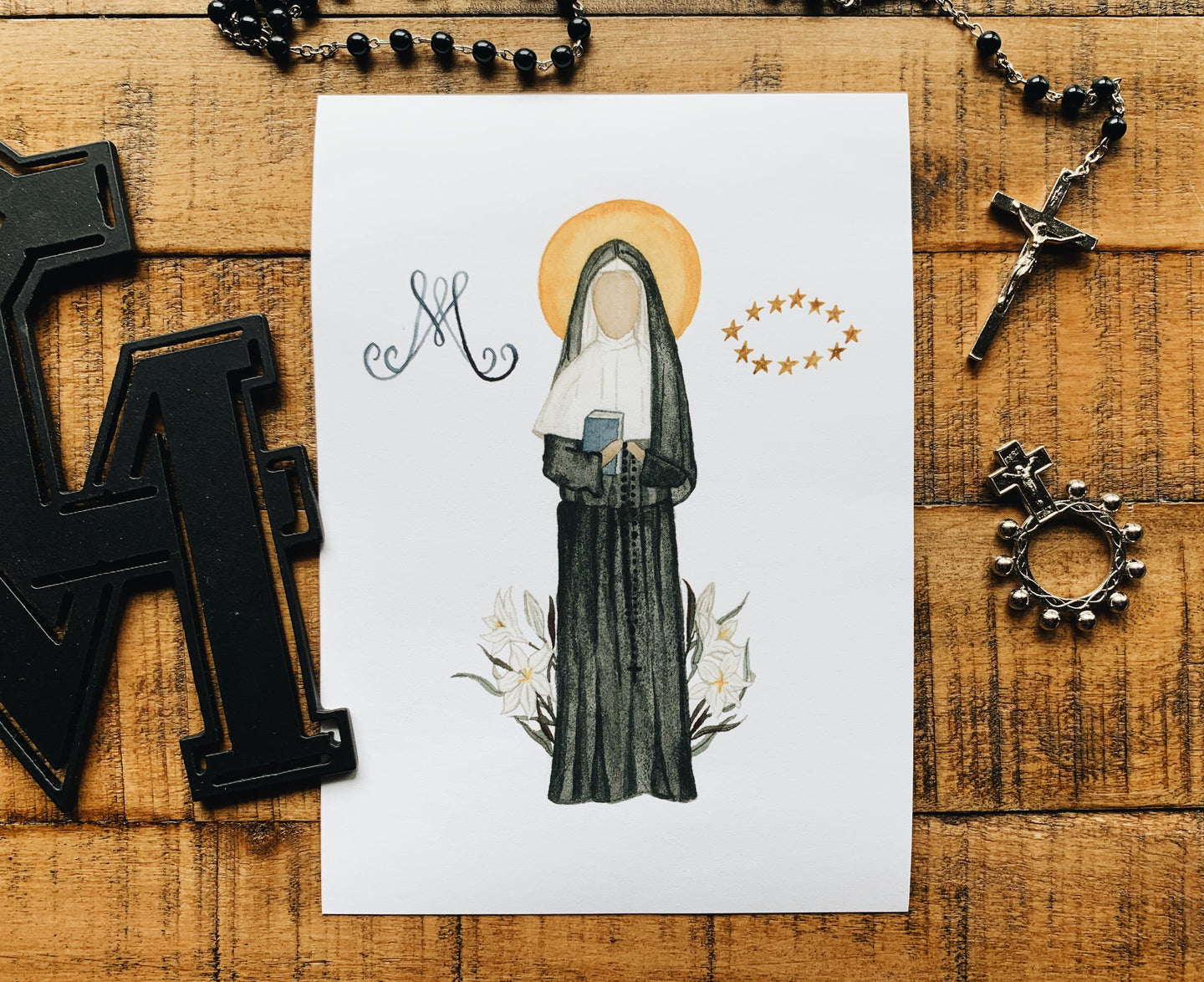 Jeanne de Lestonnac Print - WITHOUT NAME