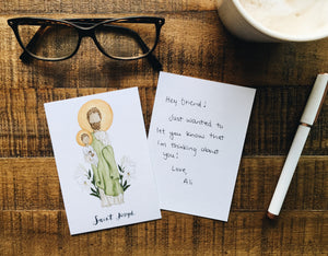Joseph Notecards - Pack of 5