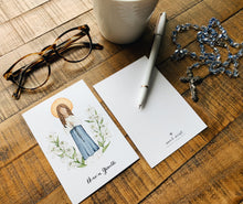 Load image into Gallery viewer, Maria Goretti Notecards - Pack of 5