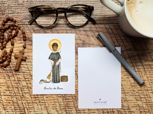 Martin de Porres Notecards - Pack of 5