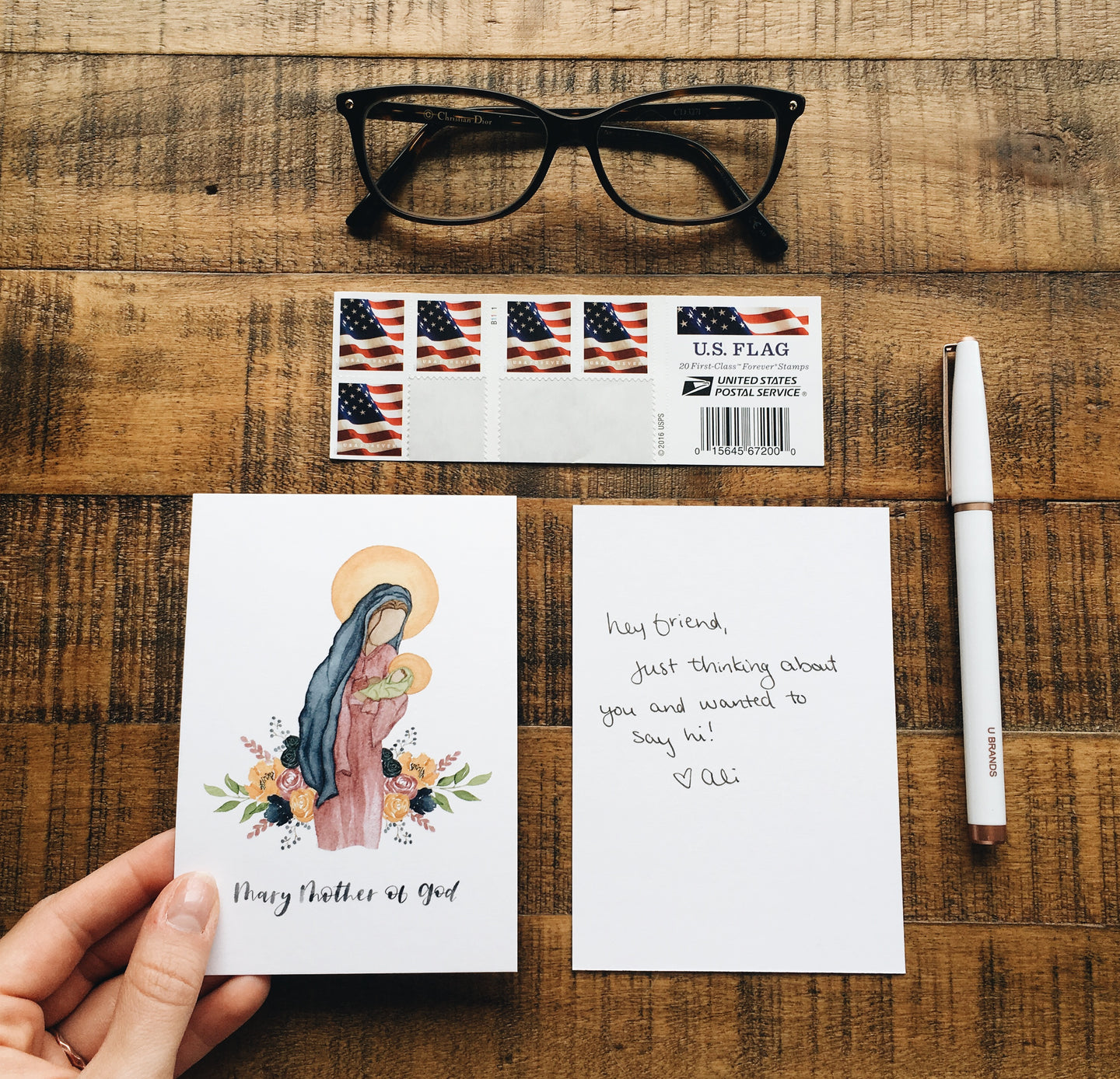 Mary Mother of God Notecard