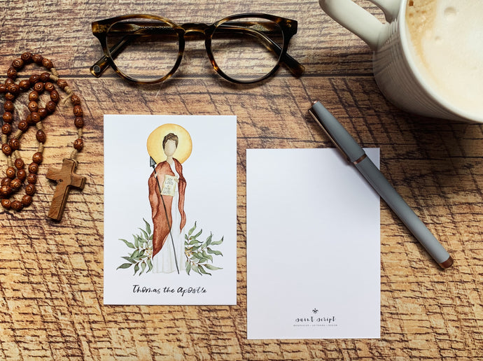 Thomas the Apostle Notecard