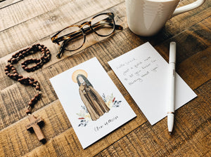 Clare of Assisi Notecards - Pack of 5
