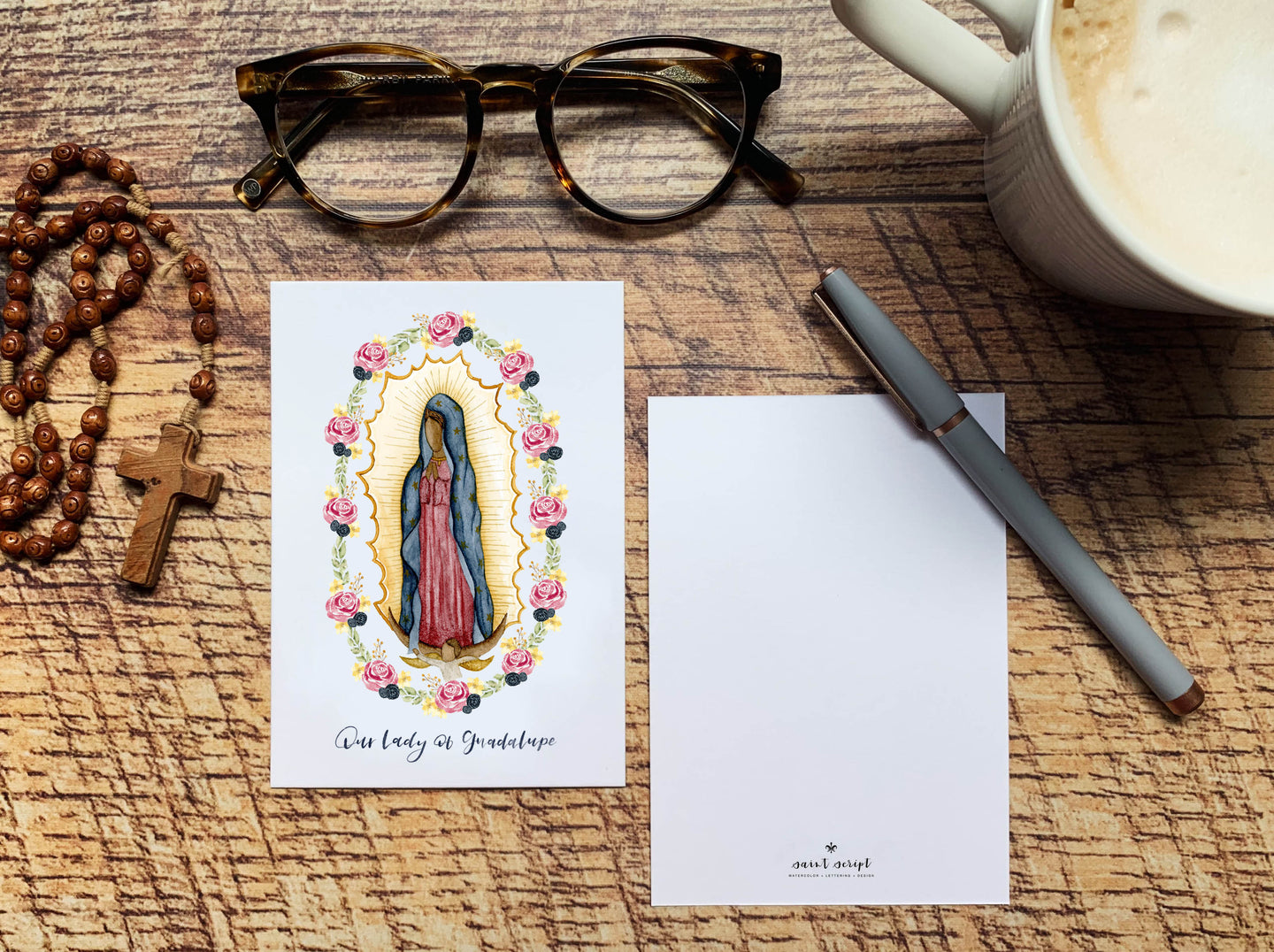 Our Lady of Guadalupe Notecard