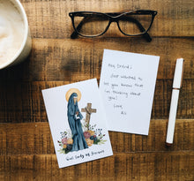 Load image into Gallery viewer, Our Lady of Sorrows Notecards - Pack of 5