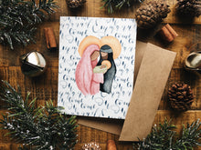 Load image into Gallery viewer, Holy Family Christmas Card