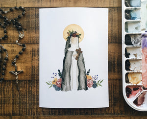 Rose of Lima Print - WITHOUT NAME