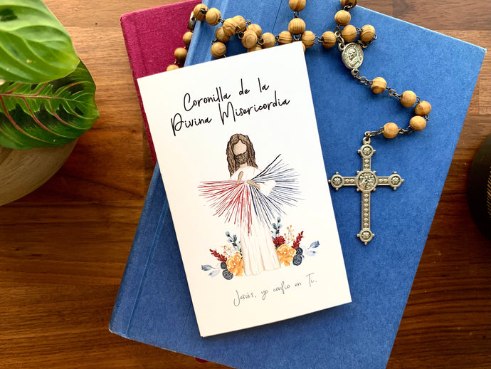 Spanish Divine Mercy Prayer Card