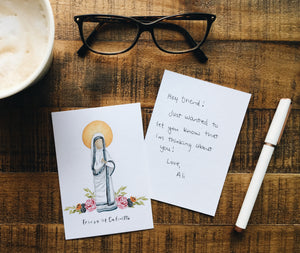 Teresa of Calcutta Notecard