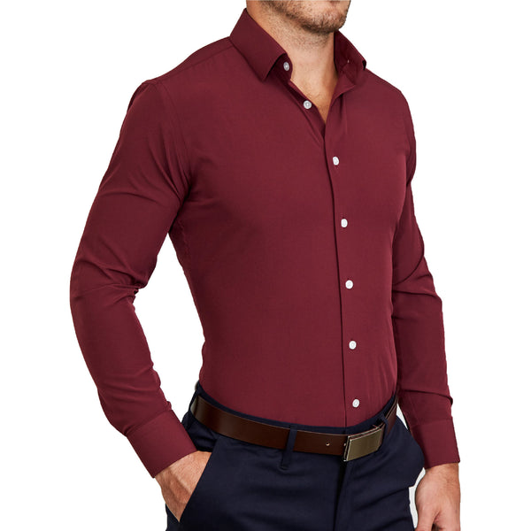 """The Ward"" Solid Maroon"