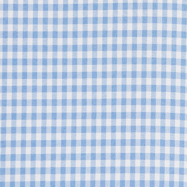 """The Mills"" Light Blue Gingham"