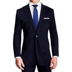 Athletic Fit Stretch Blazer - Navy