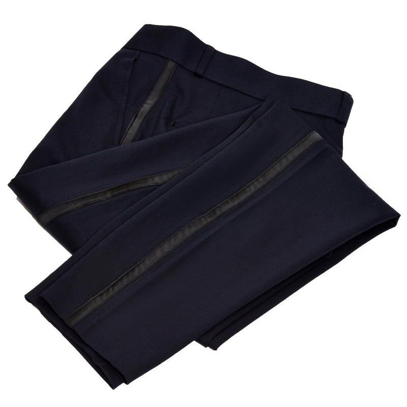 Athletic Fit Stretch Tuxedo - Navy with Shawl Lapel
