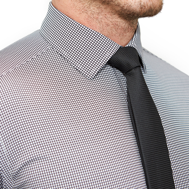 """The Newbury"" Black Windowpane"