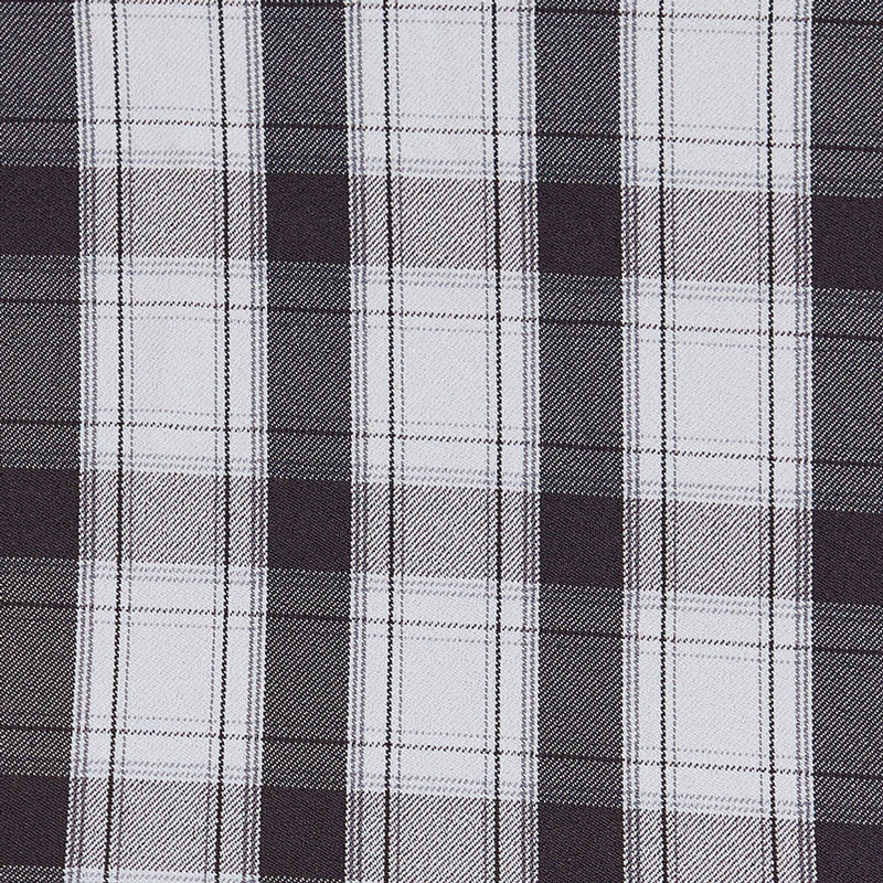 """The Oliver"" Black and White Plaid"