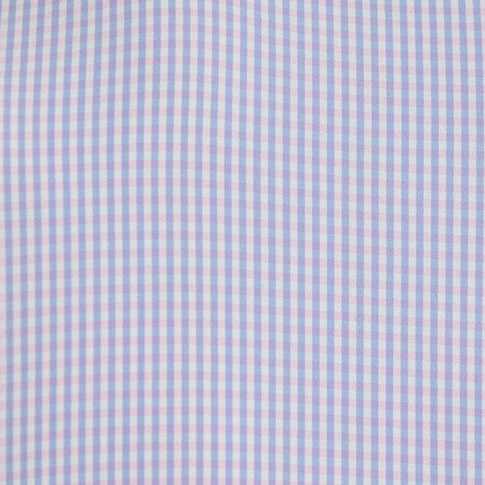 """The Spruce"" Light Blue and Pink Gingham"