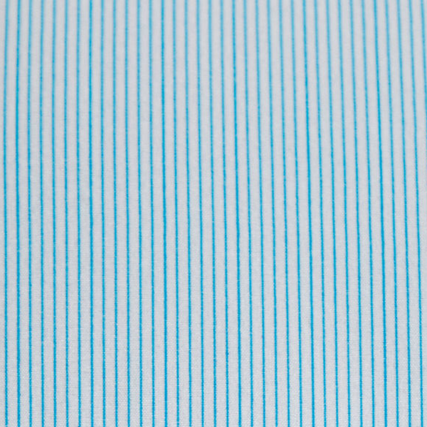 """The Belmont"" Light Blue Pinstripe"