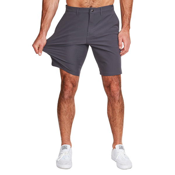 Athletic Fit Shorts - Charcoal