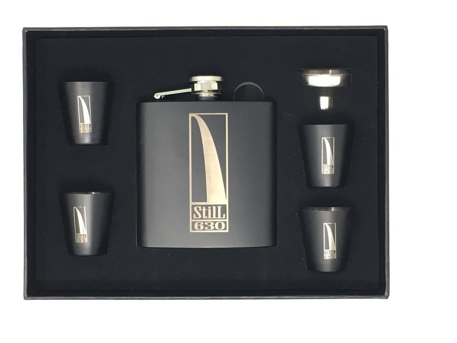 Flask Set (Black Matte)