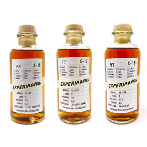 X Series Y2 - Q2 (Smoked Whiskeys)- Boxed 3 pack