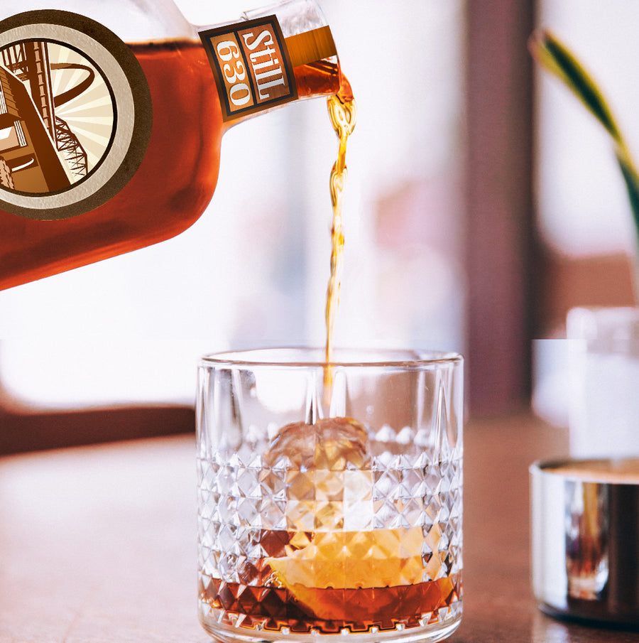 RallyPoint Straight Rye Whiskey 750mL