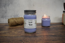 Load image into Gallery viewer, Lilac Bush Soy Candle