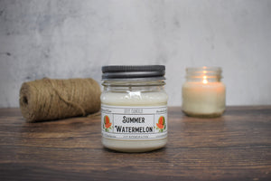 Summer Watermelon Soy Candle