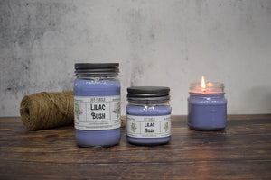 Lilac Bush Soy Candle