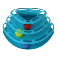 Intelligence Triple Play Disc Cat Toy