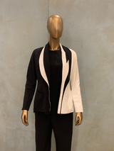 Betty Draper B&W Pantsuit