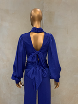 Electric Blue Maisel Pant Suit (SALE)
