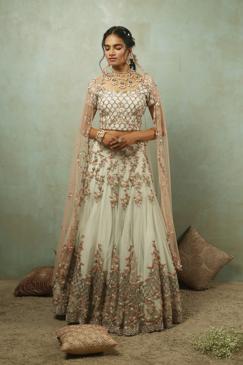 The Maharani Filigree Lehenga