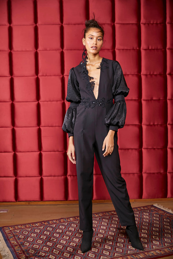Leave It To Chance Jumpsuit(SALE)