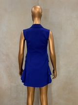 Electric Blue Origami Dress