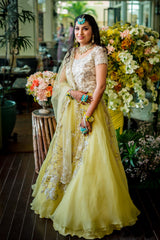 Ankita in Our Rajkumari Filigree Gown