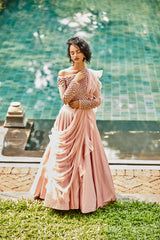 Love In The Mist Lehenga Set(SALE)