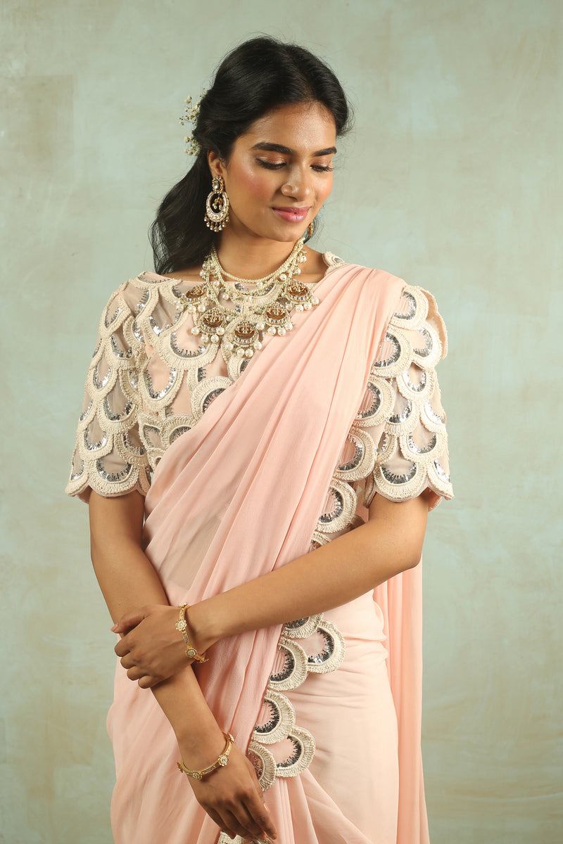 The Ethereal Bloom Saree