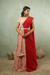 Forget Me Not Lehenga Saree