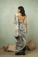 Iron Fairies Pant Saree