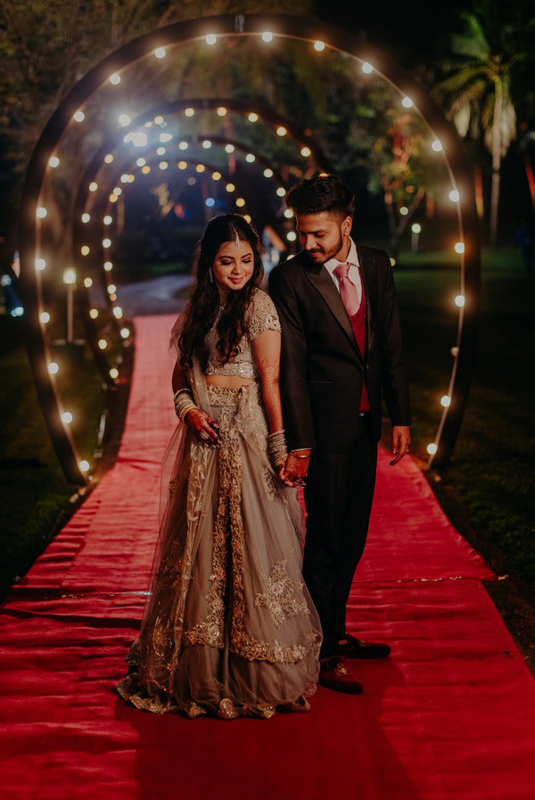 Ritika in Our Ethereal Bloom Lehenga