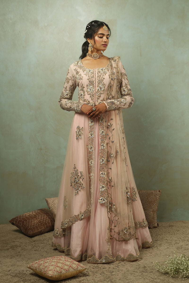 The Maharani Jacket Lehenga