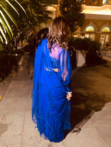 Nitika in Our Leave it to Chance Drawstrings Saree