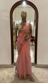 Light Pink Saree (SALE)