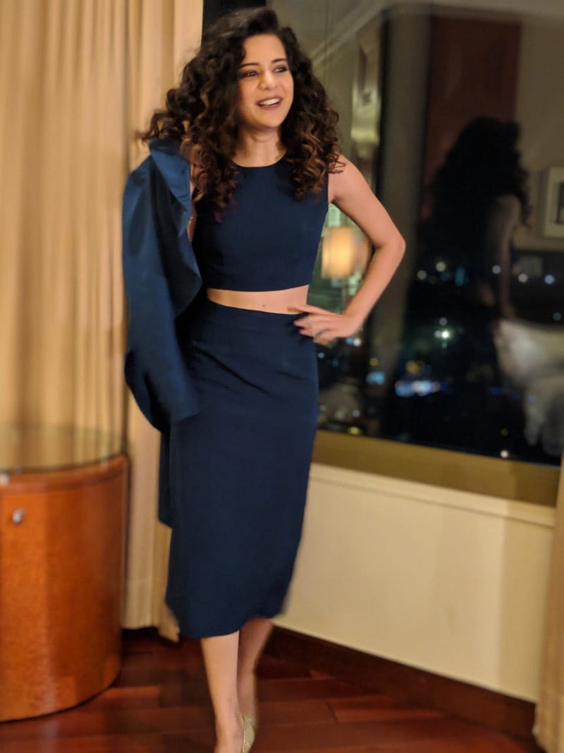 Mithila Palkar in Betty Draper Skirt Suit