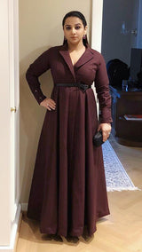 Vidya Balan In Trench Dress (SALE)