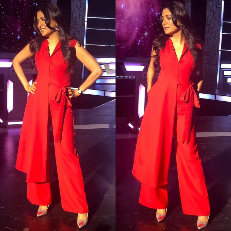 Mini Mathur In Betty Draper Jumpsuit (SALE)