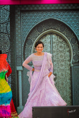 Sheetal in our Love in The Mist Lehenga
