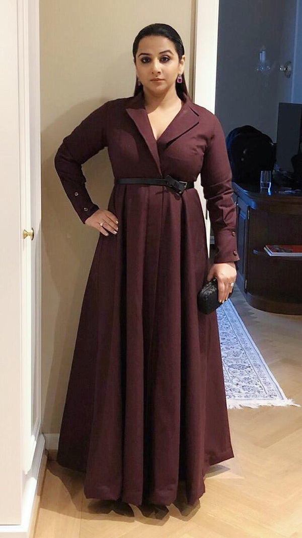 Vidya Balan In Trench Dress