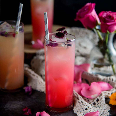 FLORAL GINGER ROSE COCKTAIL